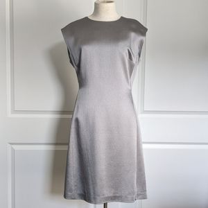 Theory Structured Fitted Sleeveless Grey Cloud 12